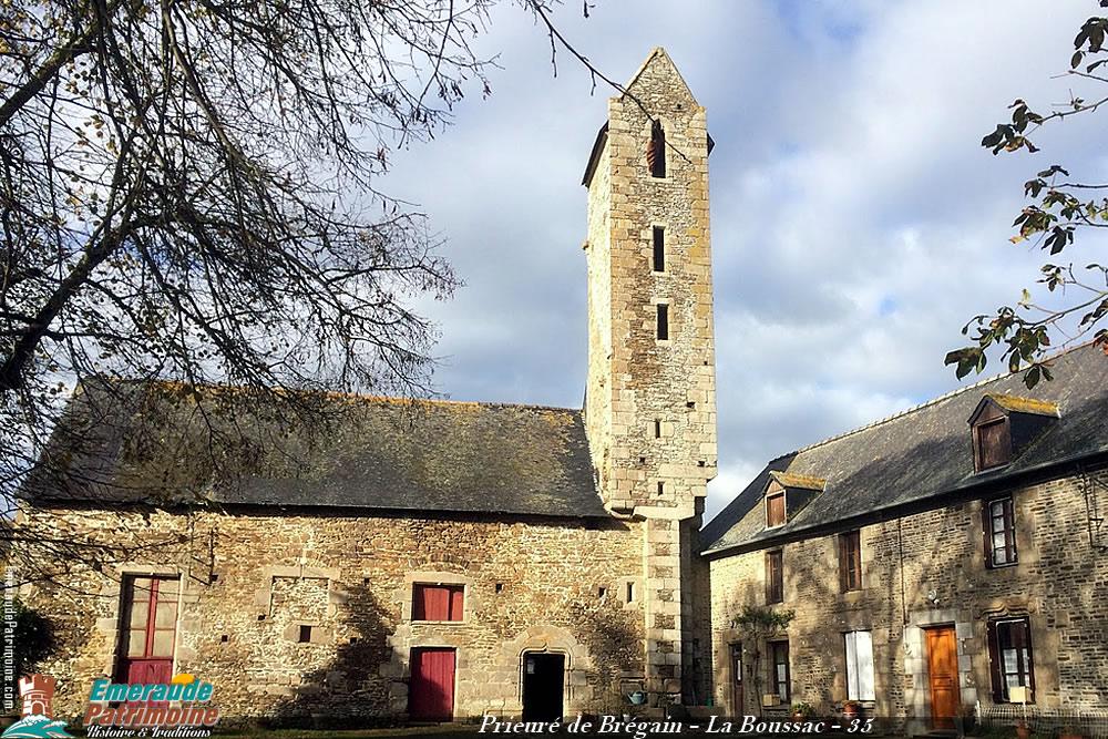 Prieuré de Brégain - La Boussac