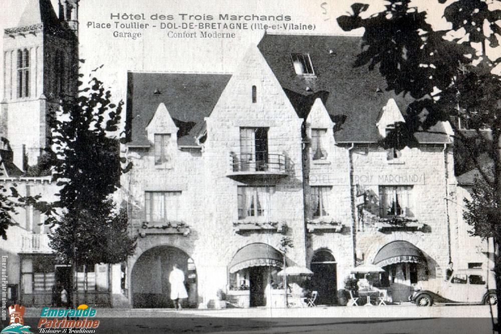 Hotel des trois marchands - Dol de Bretagne