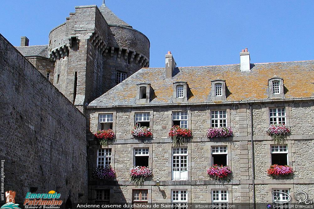 Ancienne caserne du château de Saint-Malo