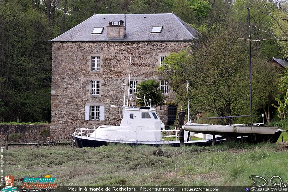 Moulin à marée de Rochefort - Plouër sur Rance