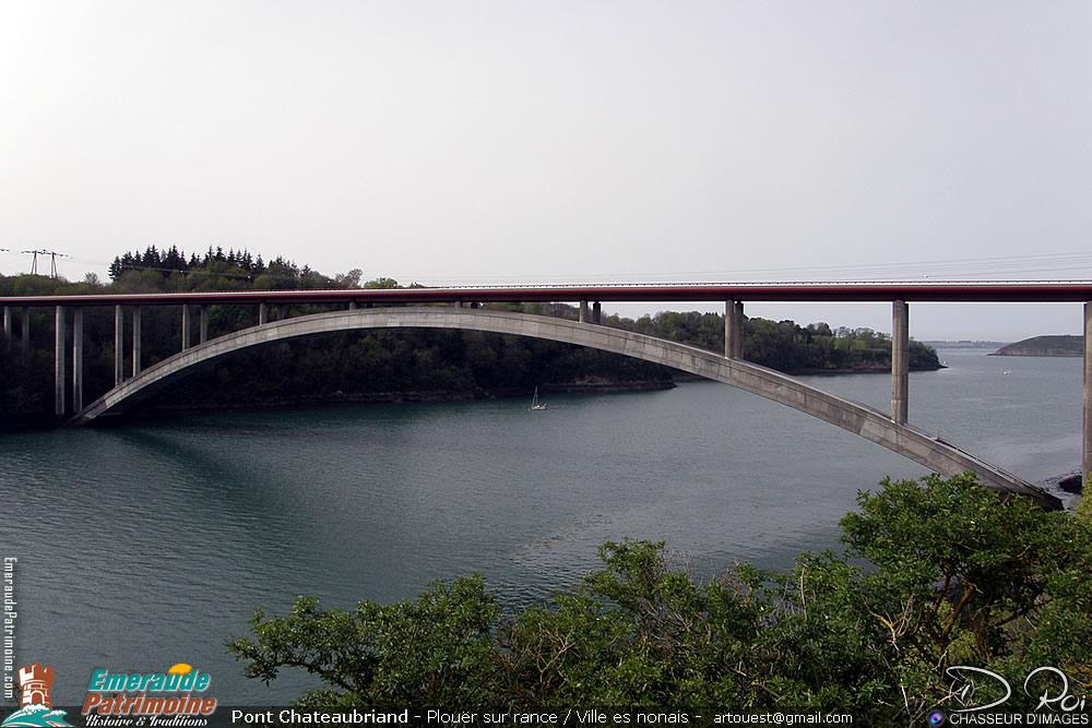 Le pont Chateaubriand - Pays de Rance