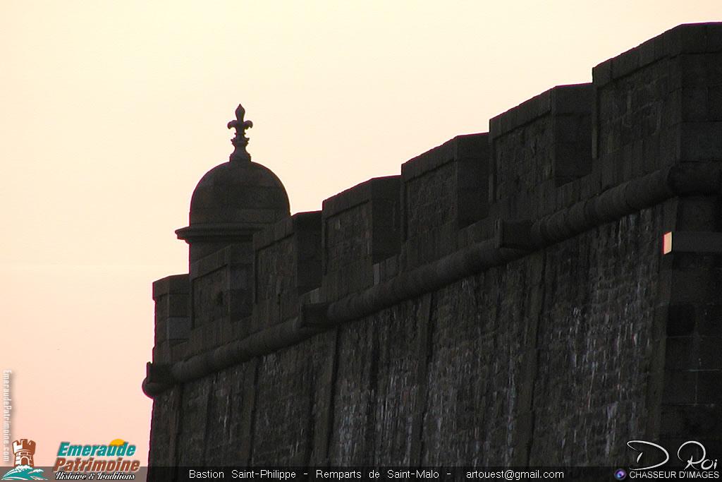 Bastion Saint-Philippe - Remparts de Saint-Malo