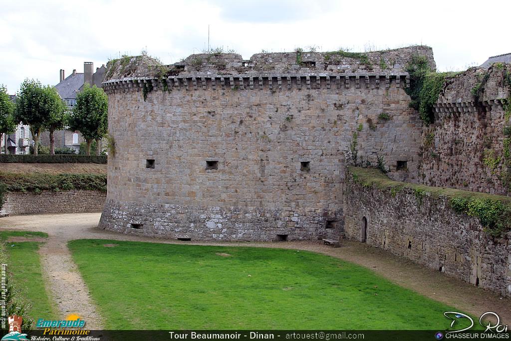 Tour Beaumanoir - Remparts de Dinan