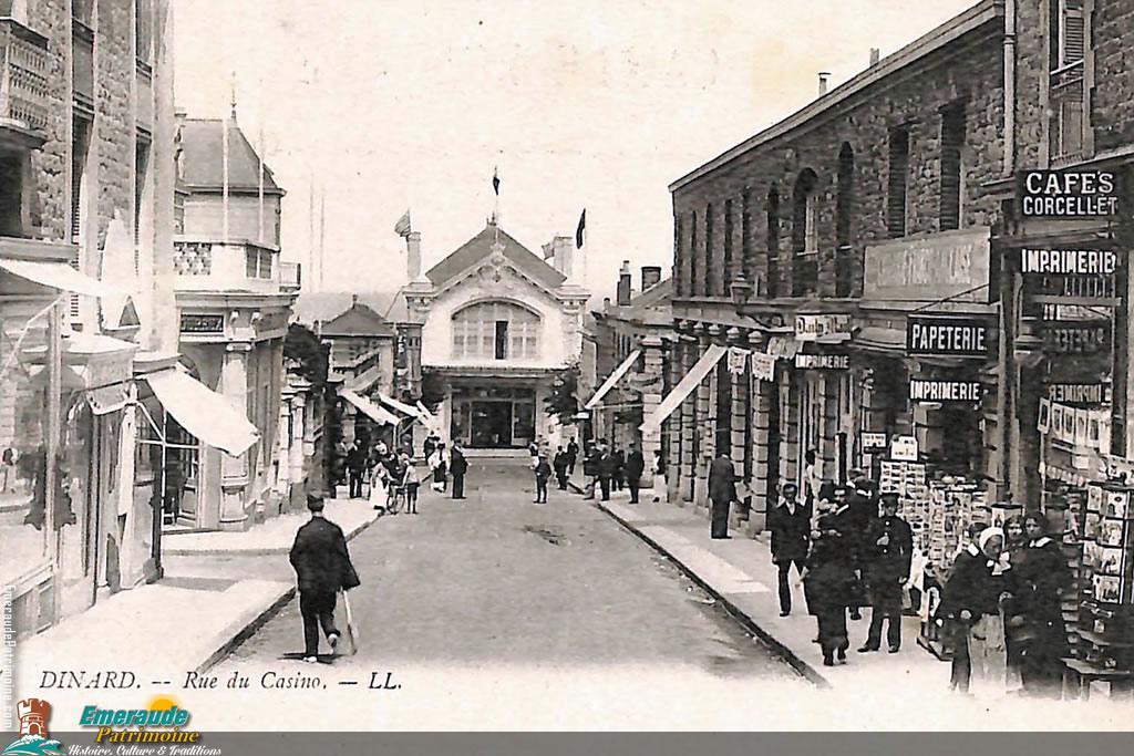 Ancienne rue du Casino - Dinard