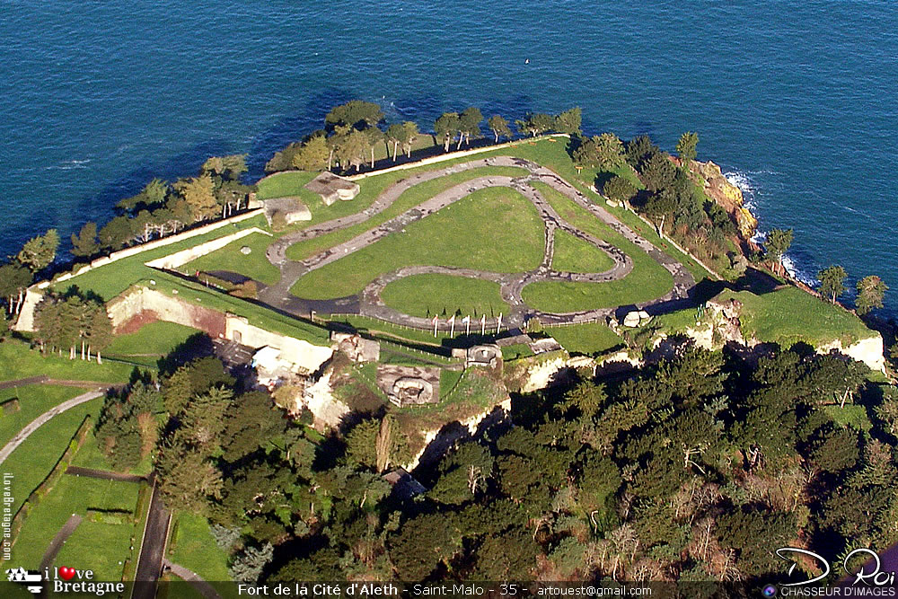 Fort de la cité d'Aleth - Saint-Malo