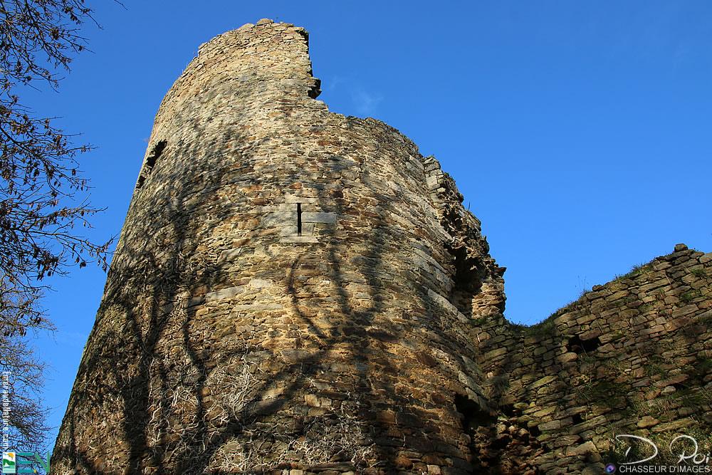 Château fort de Montafilan - Corseul