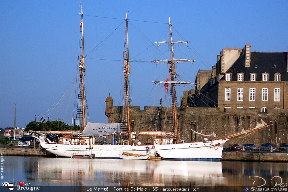 Marité trois-mâts goélette - Saint-Malo