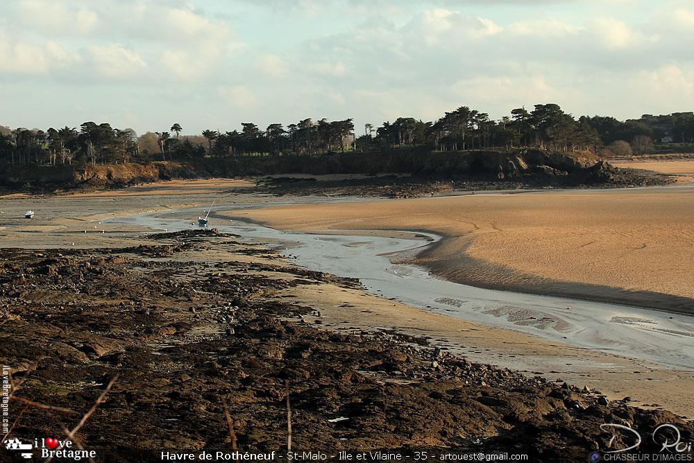 Site naturel du Havre de Rothéneuf - Saint-Malo