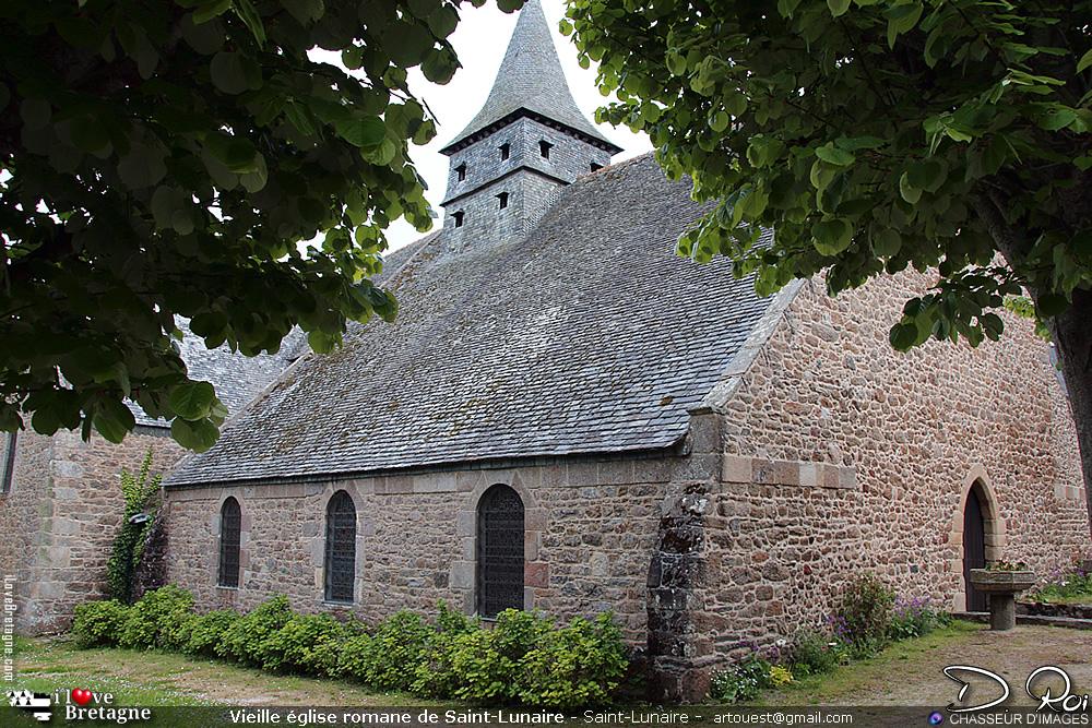 Vieille église romane de Saint-Lunaire