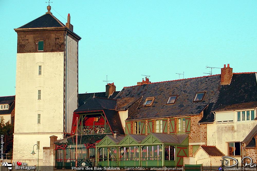 Phare des Bas-Sablons - Saint-Malo