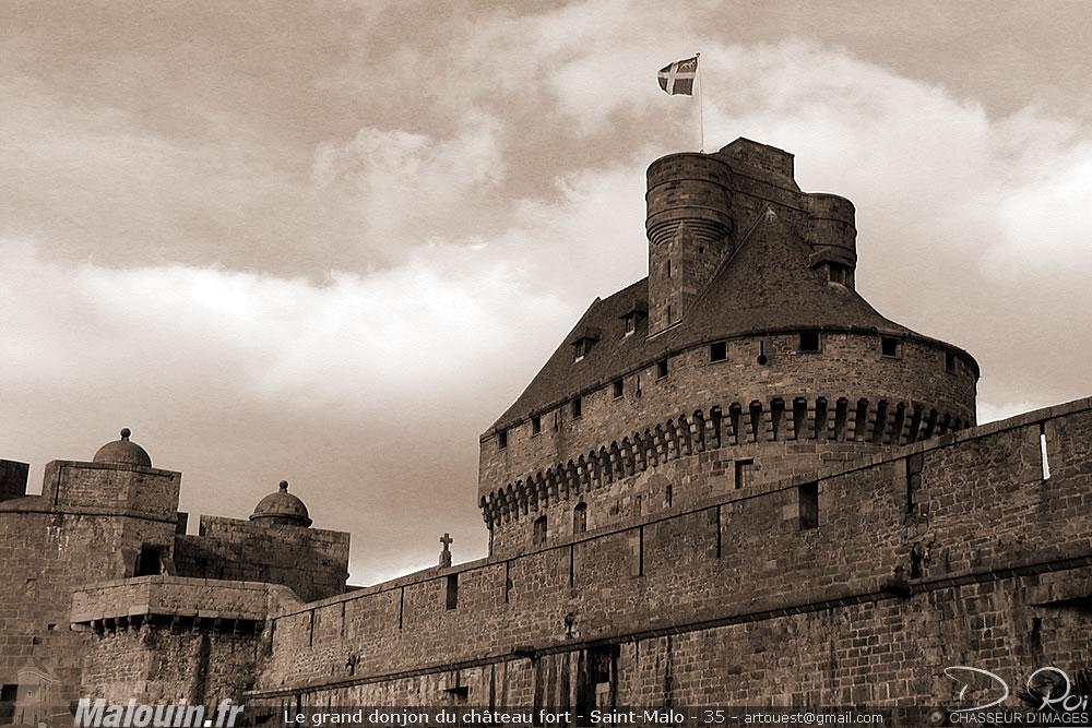 Château fort de Saint-Malo