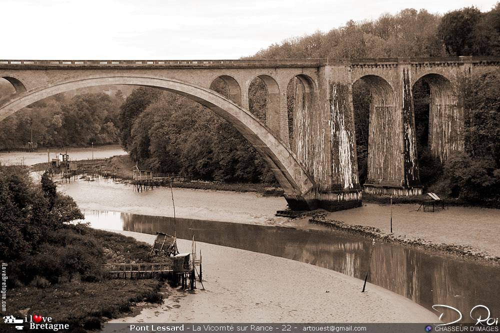 Pont ferroviaire de Lessard - Rance