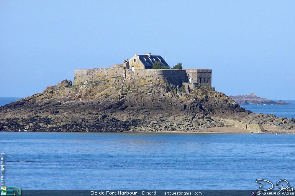 île de Fort Harbour - Dinard