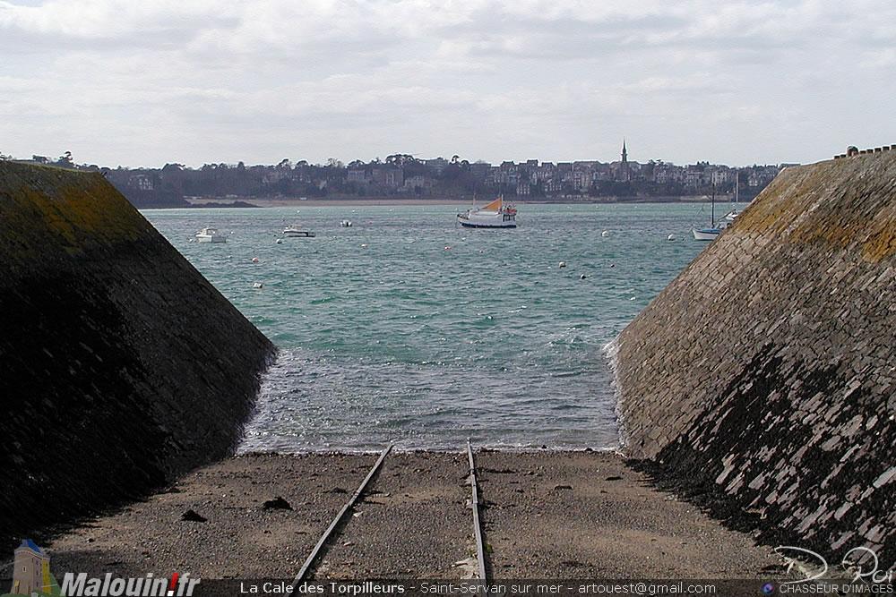 Cale des Torpilleurs Arsenal - Saint-Malo