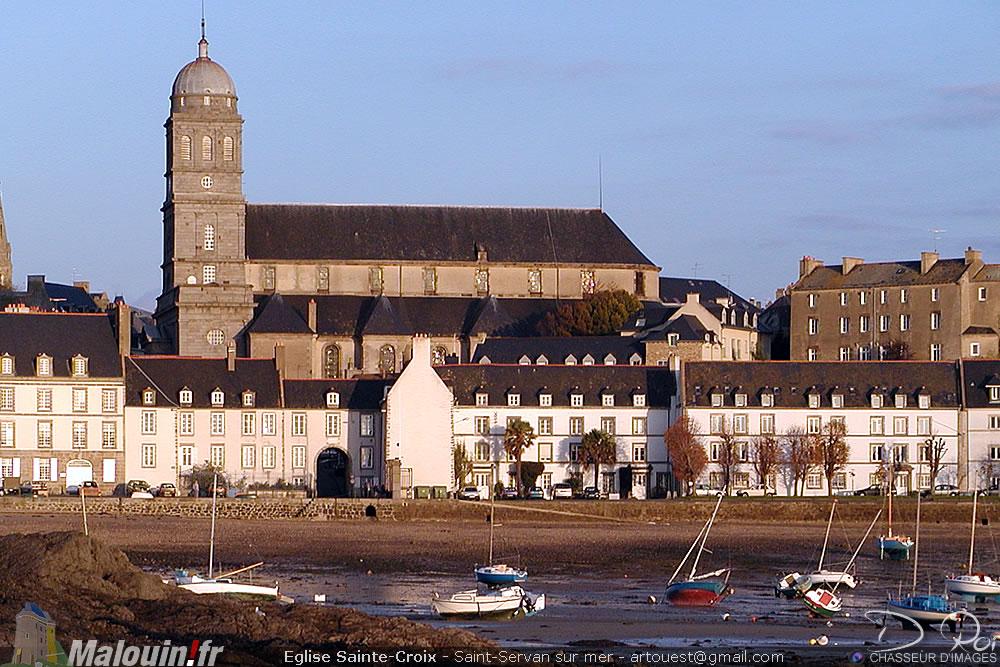 Église Sainte-Croix de Saint-Malo